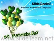 FEAST OF ST PATRICK HOLIDAYS POWERPOINT TEMPLATE