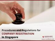 Procedures and Requirements for Company registration in Singapore
