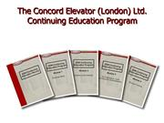 introduction to concord ce program