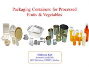 PPT_Packaging container for fresh fruits & Vegetables
