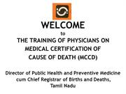 MCCD  - G P Baskaran Assistant Director(SBHI).ppt