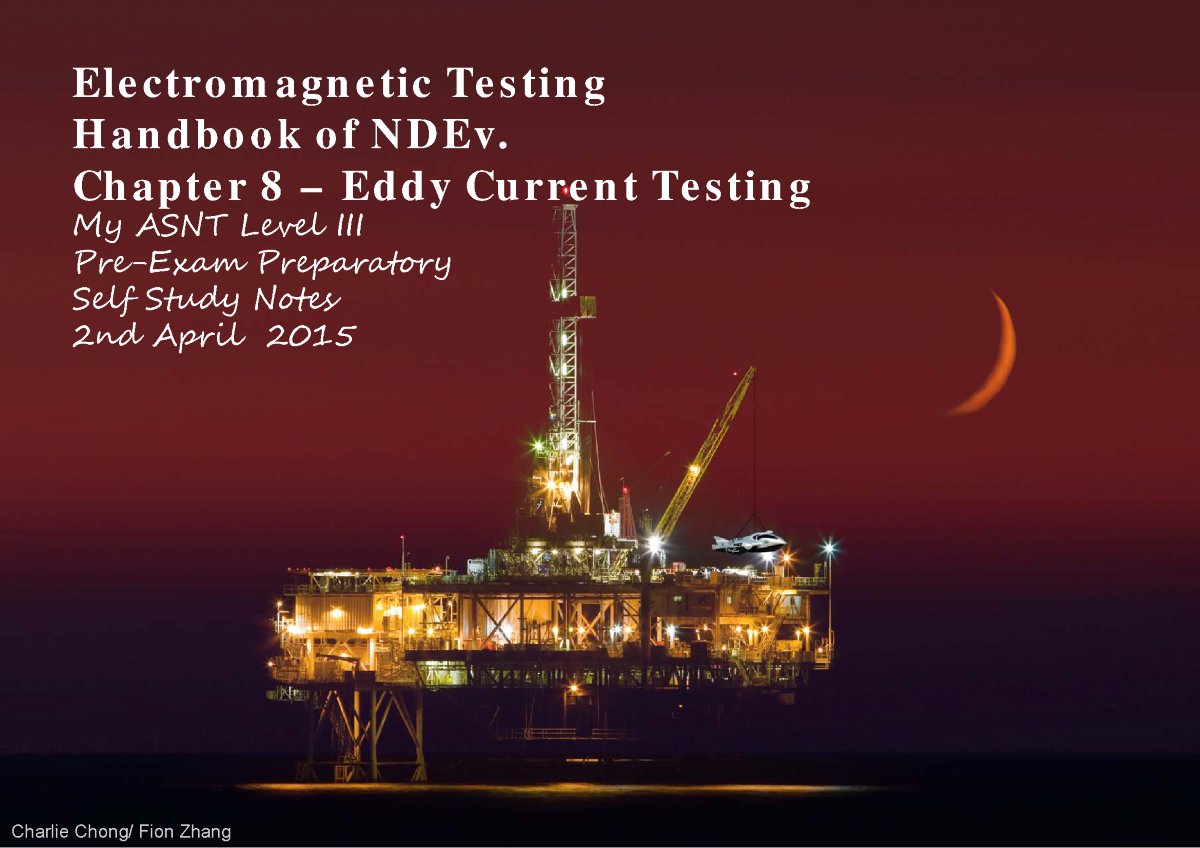 Electromagnetic Testing Chapter 8 Eddy Current Authorstream Sensor Circuit Diagram Furthermore Semiconductor Related Presentations