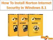 How to Install Norton Internet Security in Windows 8.1 - RiseZone