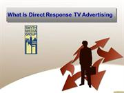 What Is Direct Response TV Advertising