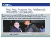 Find Best Lawyers for Intellectual Property in Nairobi Kenya