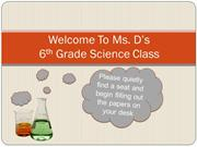 Anne-Conner Dickerson First Day of Class PPT
