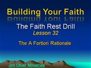 Building Your Faith Lesson 32