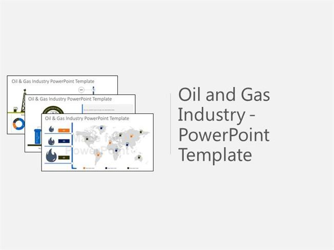 oil and gas industry powerpoint template |authorstream, Presentation templates