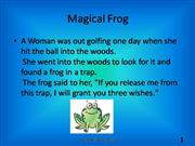 magical frog