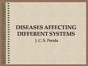 DISEASES AFFECTING DIFFERENT SYSTEMS V2