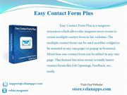 Easy Contact Form Plus - store.velanapps.com