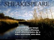 Amizade-Sheakspeare