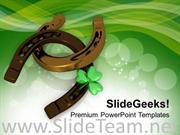 LUCKY SYMBOLS OF IRISH TRADITIONS POWERPOINT TEMPLATE