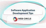 Software Application Development Tips