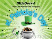 LUCKY SYMBOLS OF ST PATRICKS DAY POWERPOINT TEMPLATE