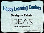 Happy Learning Centers for video