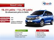 Renault Lodgy Prices, Mileage, Reviews and Images at Ecardlr