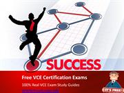 Free VCE Real Exam Questions Answers