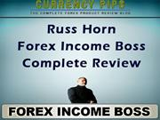 Forex Income Boss Complete Review