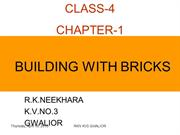 1. BUILDING WITH BRICKS