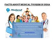 Facts about Medical Tourism in India
