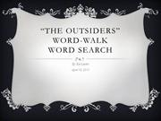 Kathleen Leisten - Mini Lesson - Word-Walk - Word Search
