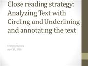 C Ahrens UCR Close reading strategy analyzing text