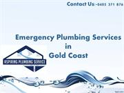 Best Emergency Plumbing Services You Can Find in Gold Coast