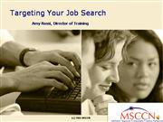 Targeting Your Job Search