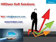 HRMS Cloud Solutions | Cloud Based HRMS Solutions India  - HrDeen