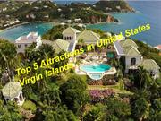 Top 5 Attractions in United States Virgin Islands