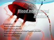 Blood And Related Products