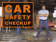 Car Safety Checkup