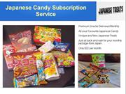 Japanese Candy Monthly Subscription Box