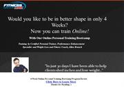 4 Week Online Personal Training Bootcamp Program Review