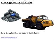 Coal Suppliers & Coal Trader