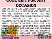 Cool and Unique Gift Ideas for Men & Women from Unusual Giftz