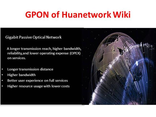 ONT, OLT And MDU in GPON Technology |authorSTREAM