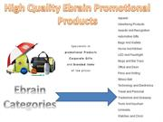 High Quality Ebrain Promotional Products