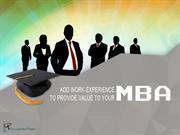 How an Internship in MBA can change your life