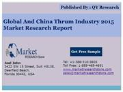 Global and China Thrum Industry 2015 Market Outlook Production Trend O