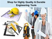 Shop for Highly Quality & Durable Engineering Tools