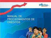 Manual de proceso crediticio