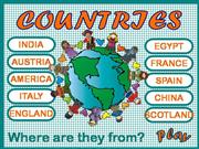 COUNTRIES - GAME