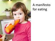 Reboot manifesto for eating & meals