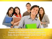 Learn about Department Of Education,  Boards Of Education, Education B