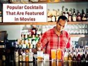 Movie Stars with their Favorite Cocktails
