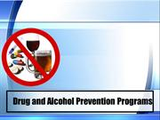 Drug and Alcohol Prevention Programs
