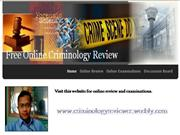 Criminology Review