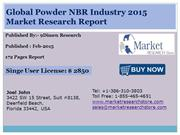 Global Powder NBR Industry 2015 Market Research Report